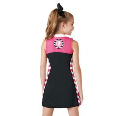The Industry Leader for made in the USA in-stock and custom Cheerleading Uniforms. Cheerleading Company also has all of the accessories you need, including shoes, pom poms, campwear and cheer apparel. Cheerleading Company, Cheerleading Uniforms, Pink Out, Cheer Outfits, Athletic Tank Tops, Dresses, Women, Fashion, Gowns