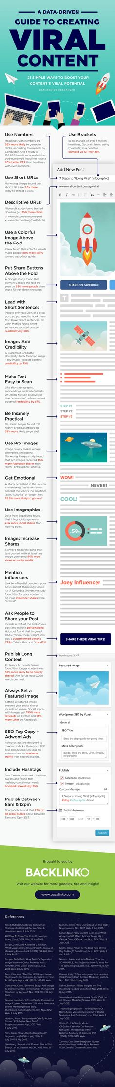 21 simple ways to Boost your content's viral potential - #infographic