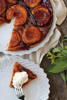 Really nice recipes. Every hour. • Peach Tarte Tatin Really nice recipes. Every hour....
