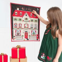 This nostalgic advent calendar will cheer up the most dismal of December days. When you buy this advent calendar you'll be creating a new family tradition, full of the magic and joy of Christmas. Let your imagination run wild and fill the 24 generously sized pockets with sweets, chocolates, or tiny gifts. Fabric Advent Calendar, Advent Calendars For Kids, Christmas Gifts For Coworkers, Kids Christmas, Tiny Gifts, Cheer Up, Family Traditions, Christmas Decorations, Stocking Stuffers