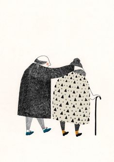 everyone leans their lifes on things they trust in. Lieke van der Vorst - illustration