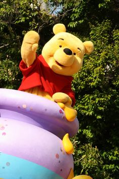 Pooh and the honey pot