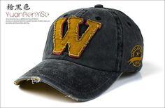 buy online da6b2 9f45c 2015 Snapback hats autumn -summer letter W hockey Bone chapeu Men