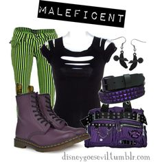 Maleficent (Sleeping Beauty) by disney-villains on Polyvore