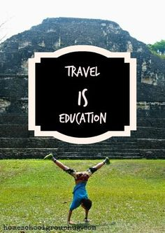 Travel and education go together. See why family travel is education and how you can get more of it in your life, for all homeschoolers, worldschoolers, unschoolers and newcmers to home education. Travel With Kids, Us Travel, Family Travel, Travel Abroad, Travel Info, Travel Tips, Family Adventure, Adventure Travel, Travel Nursery