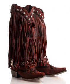 Prescott Fringed Boot - Boots - Apparel Collection