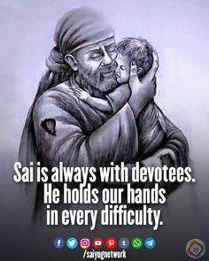 Sai Baba Pictures, God Pictures, Sai Baba Miracles, Indian Spirituality, Shirdi Sai Baba Wallpapers, Sai Baba Quotes, Gita Quotes, Baba Image, Important Quotes