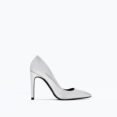 LAMINATED HIGH HEEL COURT SHOE