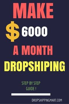 Copy Paste Earn Money - What is Dropshipping? is a money-saving shipping method that does not require the salesperson to keep goods in stock. When a consumer purchases an order, the salesperson orders the goods directly from a wholesaler. Earn Money From Home, Earn Money Online, Make Money Blogging, Online Jobs, Way To Make Money, Saving Money, How To Make, Money Fast, Quick Money