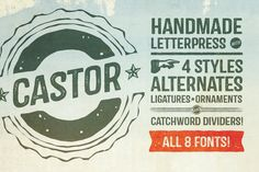 Check out Castor Complete Family by Albatross on Creative Market