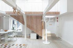 scandinavian interior design Decoration Inspiration, Interior Design Inspiration, Open Space Living, Living Spaces, Living Room, Duplex, Attic Apartment, Scandinavian Interior Design, Coastal Decor