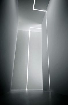 Lichtspiel: Trim Profile in extruded aluminum painted white | lighting . Beleuchtung . luminaires | Design: Panzeri |