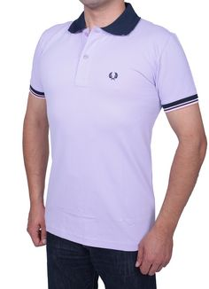 Only 23.90 €   Fred Perry Slim Fit Men's Polo T-Shirt Polo Collar, Button Placket, Short Sleeves, Bay leaf brand Logo  www.fashionworldoutlet.com