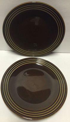 "BIA Cordon Bleu Blue Stoneware Ribbed Trim Set/2 Dinner Plates 10-1/2""  | eBay"
