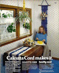 Calcutta Cord makes It Macrame Pattern   by grammysyarngarden