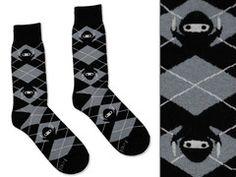 Ninja socks!