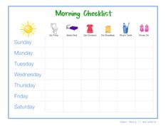 Small Family Big World: Establishing a Morning & Bedtime Routine with FREE Printable