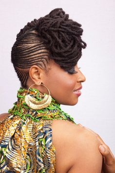 natural hair styles for black women | by admin February 4, 2013 Mixture of Natural Hairstyles
