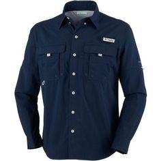 Columbia Sportswear Men's Performance Fishing Gear Bahama II Big & Tall Long Sleeve T-shirt (Navy, Size ) - Men's Outdoor Apparel, Men's Fishing To...