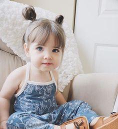 coiffure bébé fille