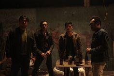 Sgt.Espina  in Dodo Dayao's Violator, 2014 Cinema One Originals Film Festival's Best Picture.