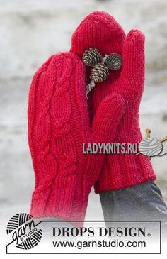 New Crochet Gloves Diy Mittens Pattern Ideas Crochet Mittens Free Pattern, Fingerless Gloves Crochet Pattern, Knit Mittens, Knitted Gloves, Knitting Patterns Free, Free Knitting, Crochet Patterns, Fingerless Mitts, Drops Design