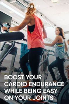 This heart-pumping elliptical workout for beginners proves you shouldn't discount the simple cardio machine. #cardio #elliptical #athomeworkouts #cardio Intense Cardio Workout, Cardio Workouts, At Home Workouts, Stress On The Body, Aerobic Activity, Good Treadmills, Gym Machines, Sweat It Out, Workout For Beginners