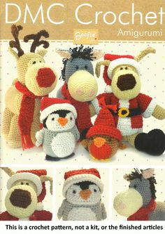 DMC: Boofle and Friends Crochet Pattern Booklet