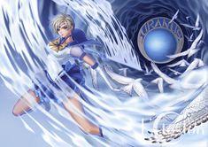 Anime Sailor Moon  Haruka Tenou Sailor Uranus Fondo de Pantalla