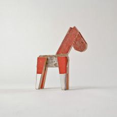 Small Wooden Horse. I very much like the look of this horse.