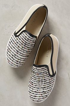 J Slides Woolen Sami Sneakers from Anthropologie Women's Shoes, Me Too Shoes, Shoe Boots, Doll Shoes, Buy Shoes, Slip On Sneakers, Slip On Shoes, Shoes Sneakers, Wool Sneakers