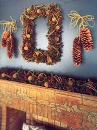 pinecones  winter fall decorations