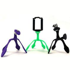 Gekkopod Mini Tripod Mount - Portable and Flexible Stand/Holder for Smartphone #Desino