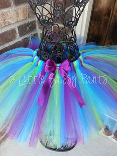 Peacock tutu I know I am a grown woman, but I have always wanted my own tutu:-)