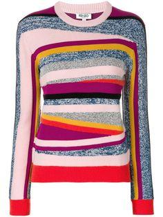 KENZO Broken Stripes sweater. #kenzo #cloth #