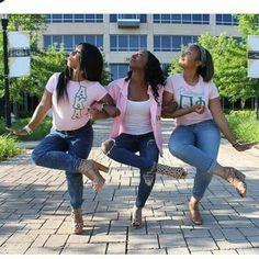 ♡ #paddleboardoutfit My Black Is Beautiful, Pretty In Pink, Pretty Girls, Aka Sorority, Sorority Life, Black Fraternities, Alpha Kappa Alpha Sorority, Alpha Female, Girls World