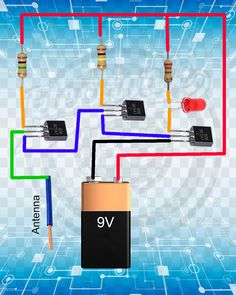 icu ~ Wire Breakage Detector in 2019 Electronics Projects, Hobby Electronics, Electronics Basics, Electronic Circuit Projects, Electrical Projects, Electronics Components, Electronic Engineering, Arduino Projects, Electrical Engineering