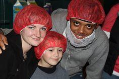 Hair caps are a good idea. www.darrylsicecreamsolutions.com