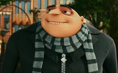 Gru.  His facial expressions are perfect.