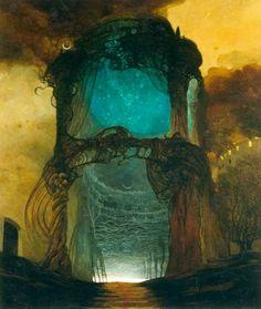 Portal by Zdzislaw Beksinski