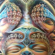 ╭•⊰✿ The Totality Of Existence✿⊹⊱╮ ⊹Visionary Art By:  Olga Klimova⊹
