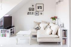 Small Attic Living Room Idea