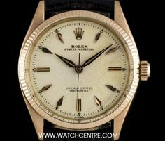 #Rolex 18k Rose Gold #Rare #OysterPerpetual Cream Dial #Vintage Gents #6567 Rolex Oyster Perpetual, 18k Rose Gold, Oysters, Watches, Vintage, Cream, Creme Caramel, Clocks, Clock