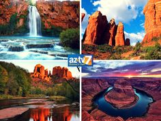 Four pictures that will make you want to go out and #ExploreArizona! #ArizonaBeauty #AZTV