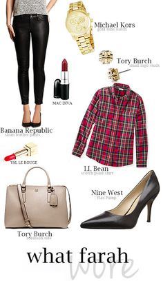 Rustic Chic: What Farah Wore 11.13.14