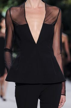 Akris at Paris Fashion Week Spring 2013 - Livingly