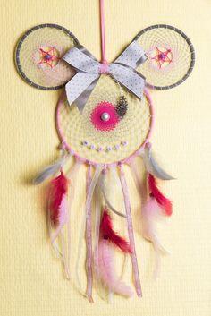 Attrape Rêves Dreamcatcher Fait Main Personnalisable Forme Tête **TAILLE ET COULEURS** : Décoration pour enfants par odydonc