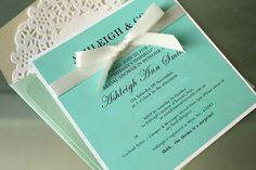 Tiffany & Co bridal shower invitation by Innovative Events
