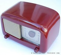 *American*Radio*Design* - Greg Mercurio - Deco-Mid Century, Retro Styled Vintage Tube Radios   : PHILCO Mid Century Retro Tube Radio, Model 48-225 ...