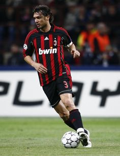 Maldini = incredible legend, pure class and one of my favorite players. One of the big reasons why I follow AC MILAN.
